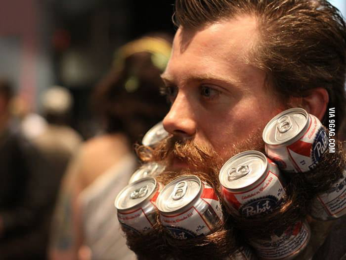 Just when I thought beards couldn't be any manlier.