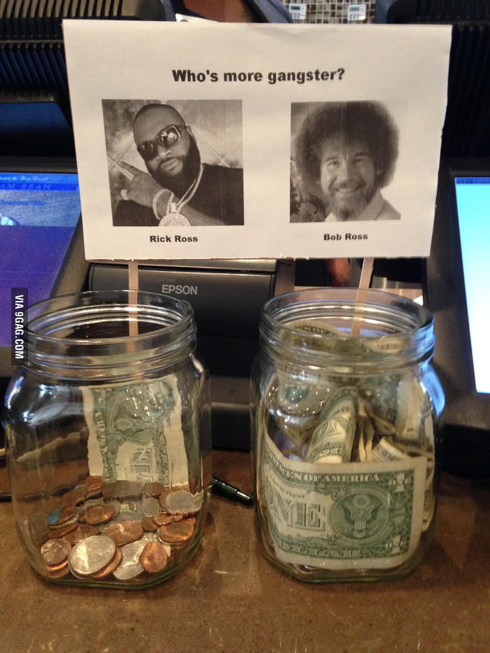 Who's more gangster? - 9GAG