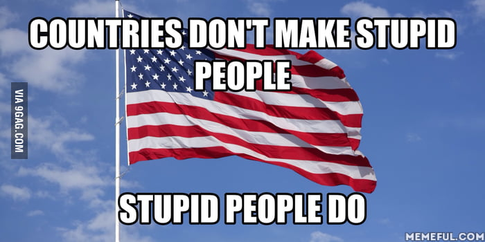 Why do so many people think Americans are dumb?