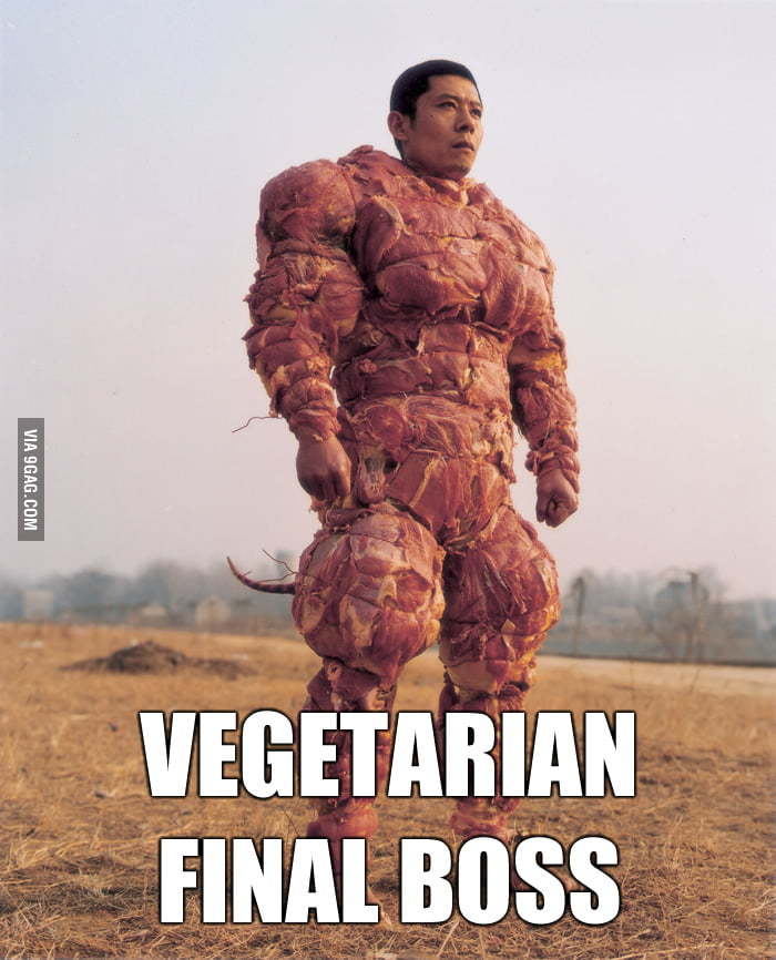 Final Boss of Vegetarian