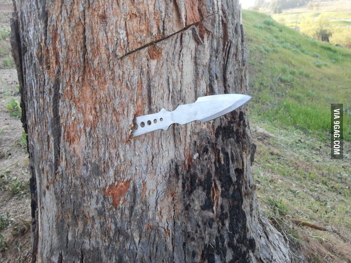 Throwing knives, you're doing it wrong