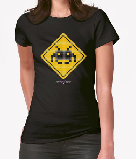 Started making some pixel t-shirt designs! What do you guys think? More on fb page, search gravtee designs.