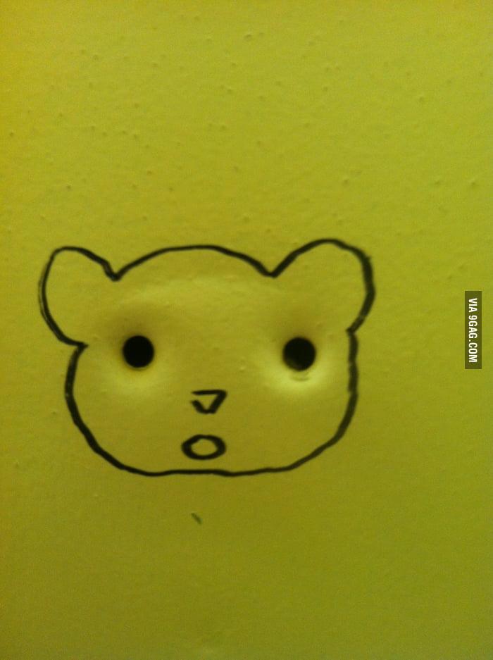 There 39 s no elephant hook in my school bathroom 9gag for Bathroom 9gag