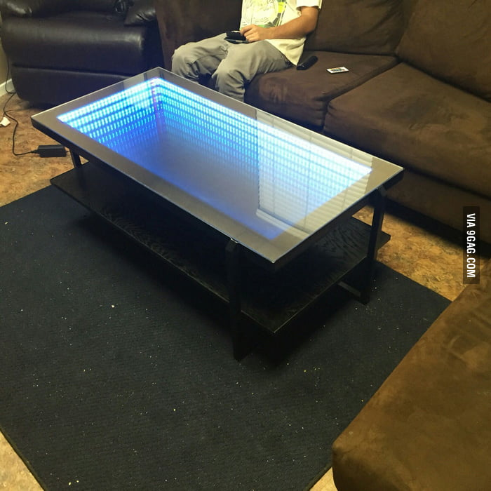 Infinity Coffee Table I Built With My Friends 9gag