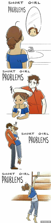 Short girl Problems. - 9GAG