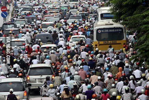 Traffic Indonesia Indonesia Traffic Jam