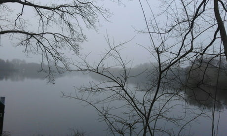 Quite cold and foggy this morning while running...but a beautiful view