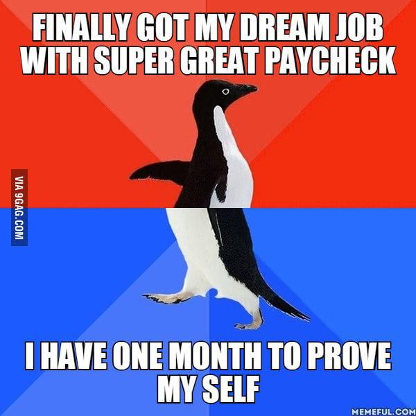 Finally Got a Job Finally Got my Dream Job With