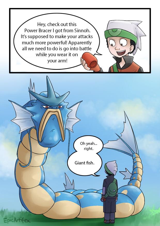 Never understood how pokemon hold items... - 9GAG