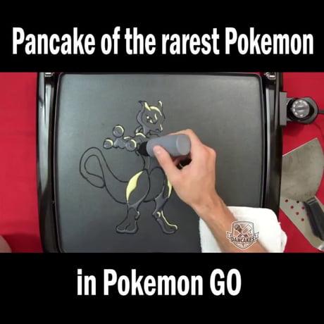 Rarest Pokemon in pancake form!