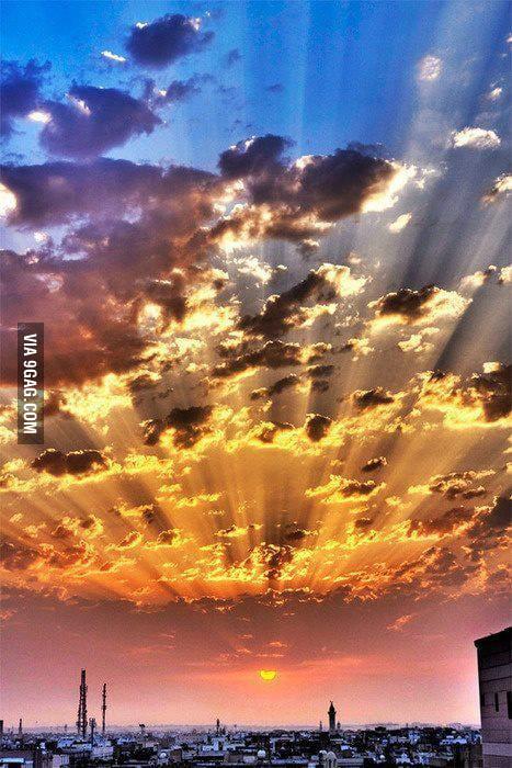 Sunset, Istanbul, Turkey