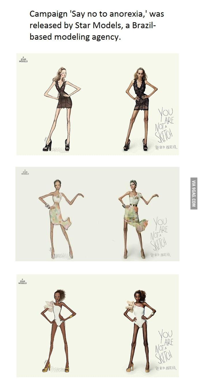 The most creative anti-anorexia campaign