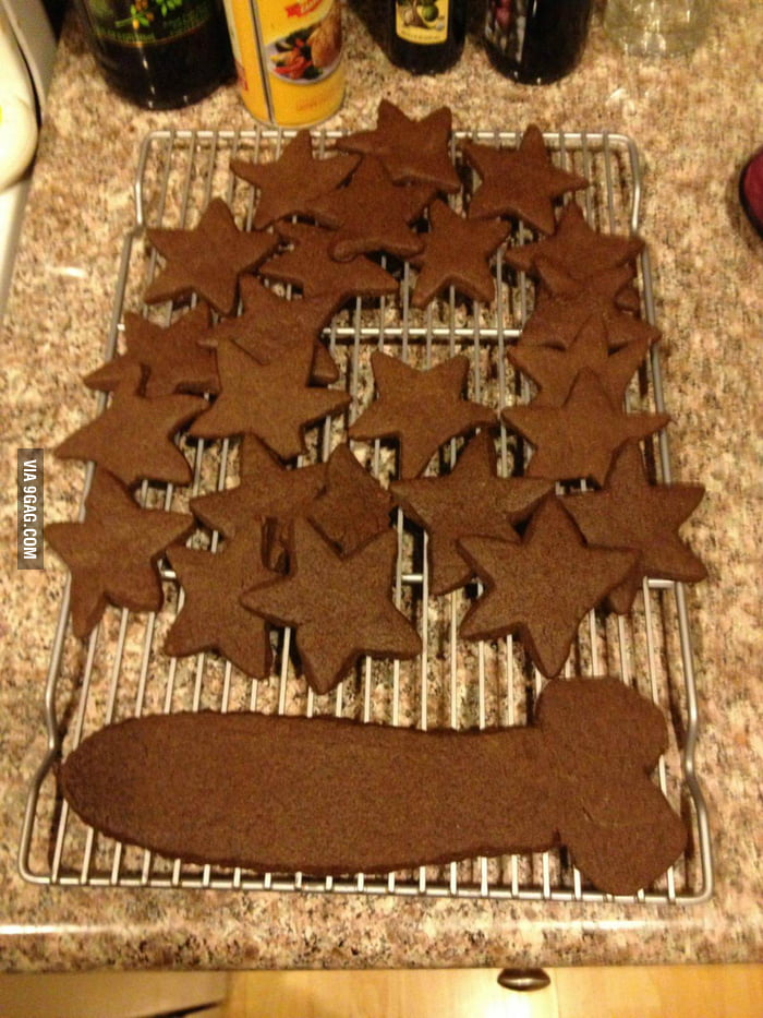 This is why I'm not allowed to help make cookies anymore