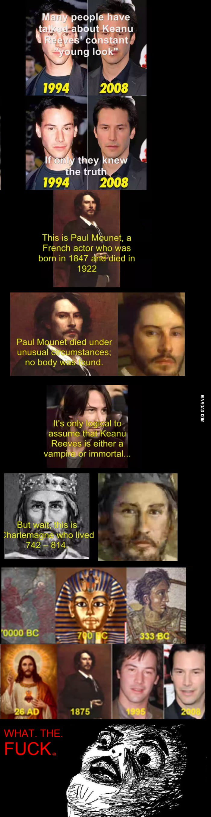 The immortal Keanu Reeves.