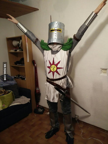 I was cosplayed as Solaire for a french event called TGS, what do you guys think of it?