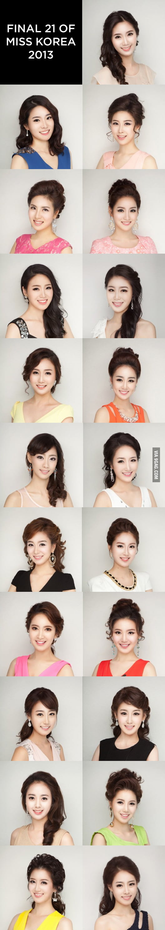 Final 21 of Miss Korea 2013
