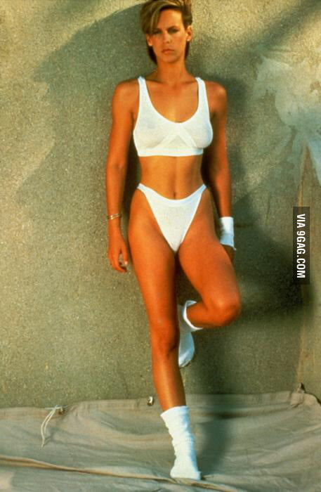 A young Jamie Lee Curtis - 9GAG