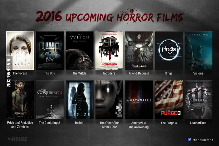 2016 Upcoming Horror Films!! - 9GAG