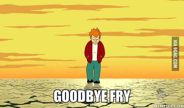 Futurama has ended. A moment of silence.