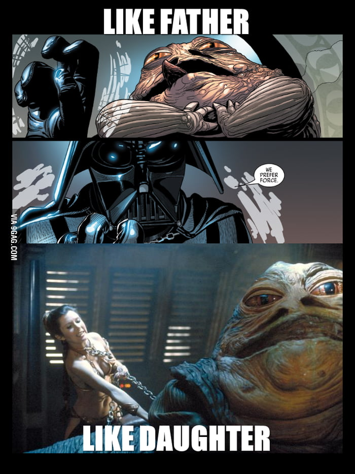 "Noticed this while reading ""Darth Vader # 1"". Vader force ... Jabba The Hutt Choked"