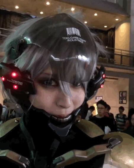 Japanese Cosplay Raiden Of Metal Gear Solid 9gag