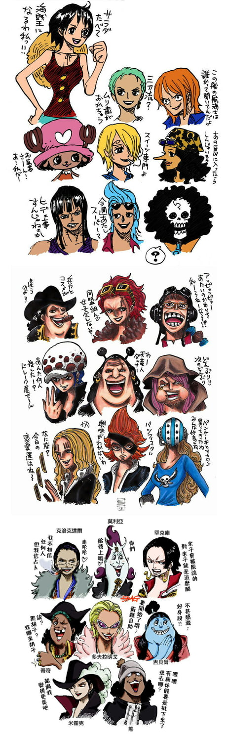 Genderswap Some Of One Piece Character (from sbs)
