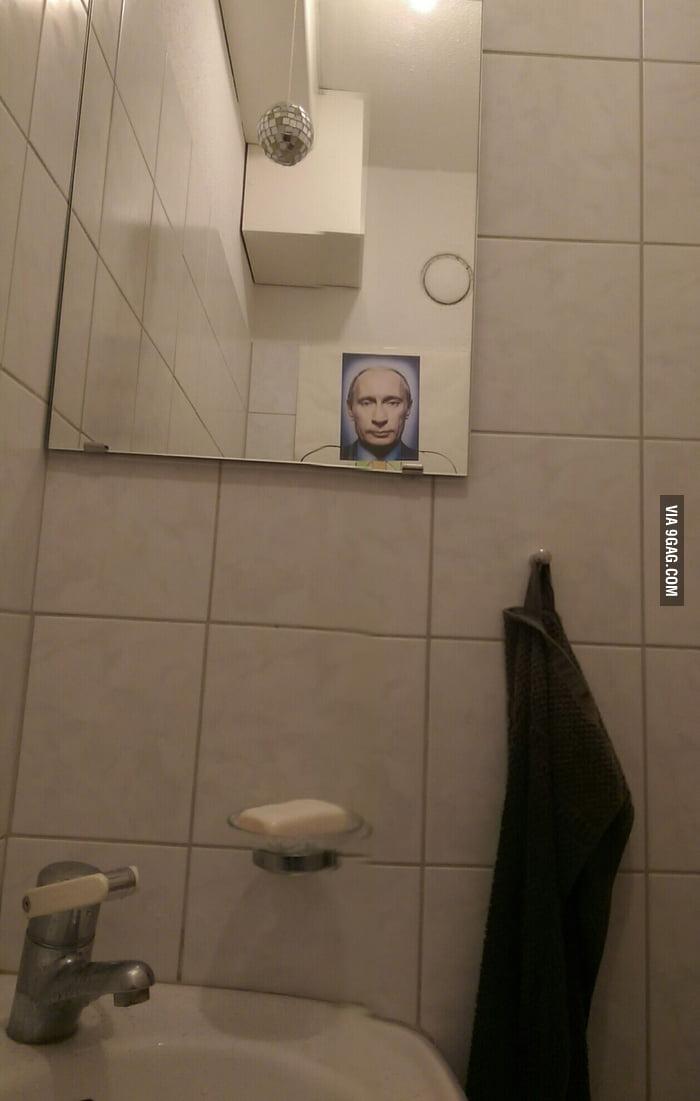 The bathroom at a college party 9gag for Bathroom 9gag