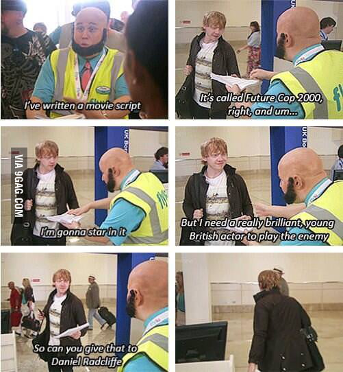 Poor Ron..