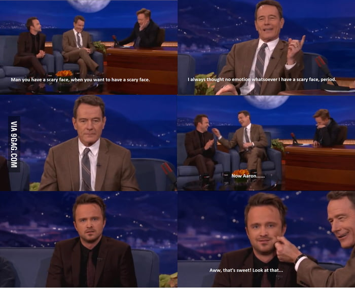 The Bromance of Bryan Cranston and Aaron Paul