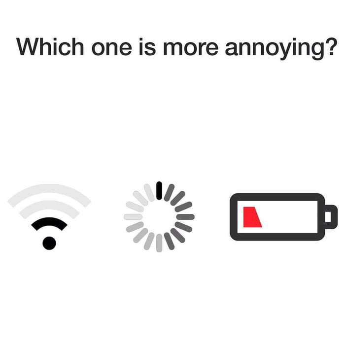 Which one is the most annoying?
