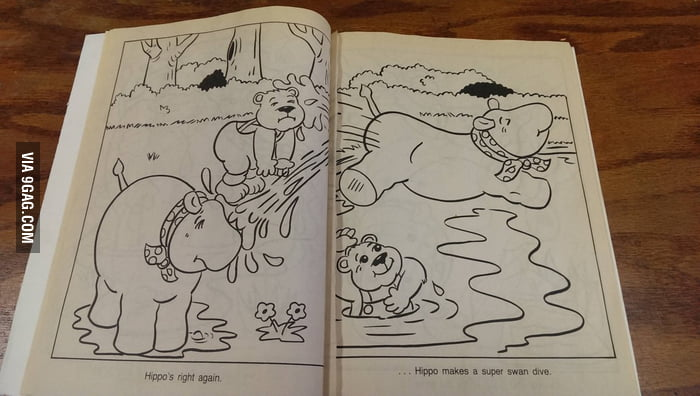 9gag Colouring Book