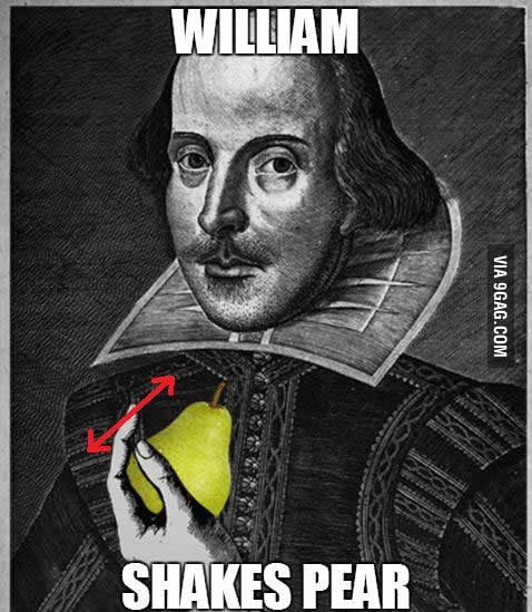 William shakes pear