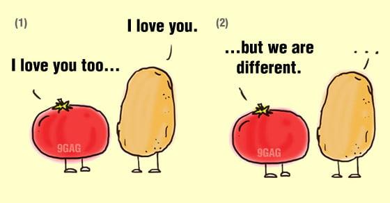 tomato and potato relationship memes