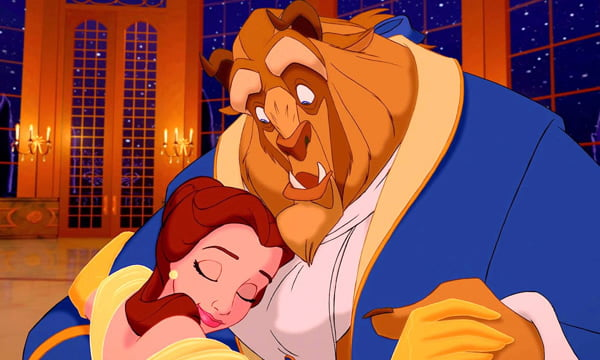 This just changed the way we see Beauty and the Beast. Mind blown.