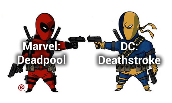 Marvel Vs DC: Equivalent Characters - 9GAG