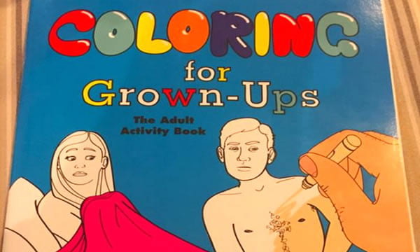 This Coloring Book For Grown Ups Mocks Adult Life Accurately