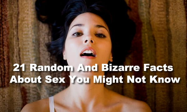 Random Facts About Sex 74