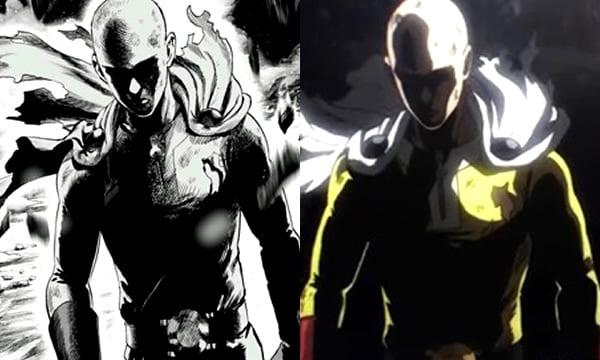A One Punch Man Comparison Manga Vs Anime 9gag