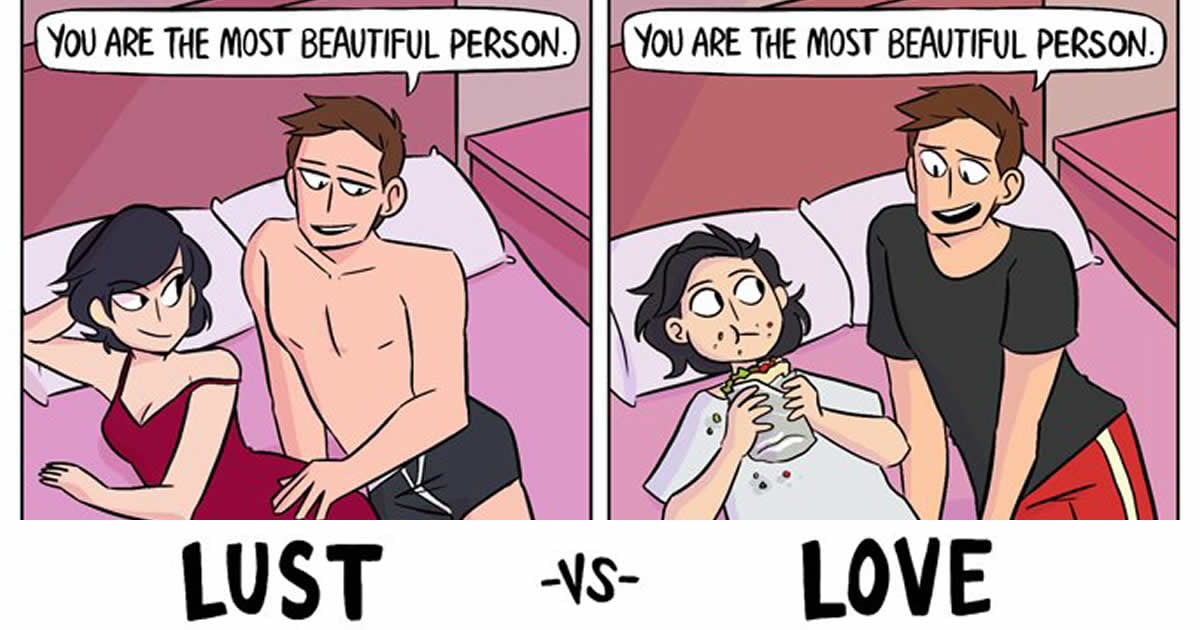 Between and love lust difference