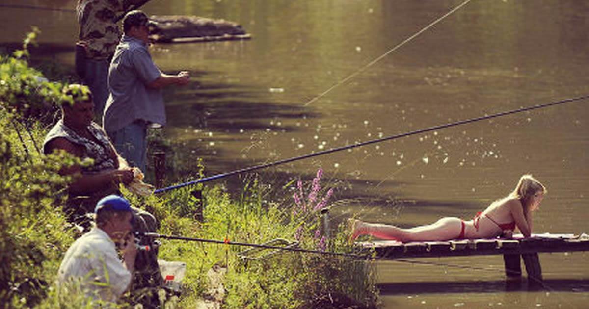 видео прикол на рыбалке городок