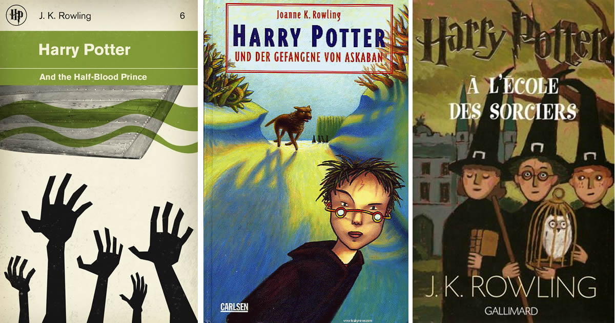 Harry Potter Book Different Covers ~ Harry potter book covers from different countries what s