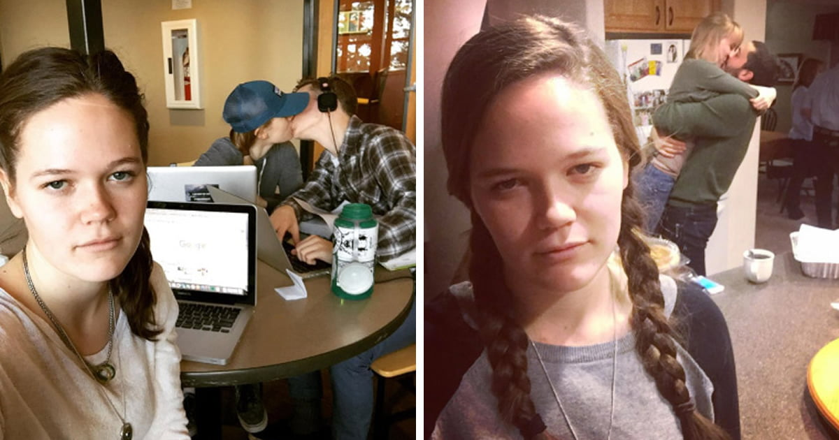 Woman documents life as a permanent third wheel, becomes internet celebrity