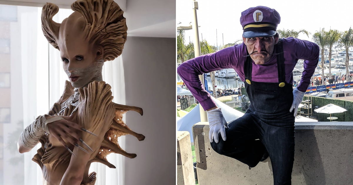 Meet The Coolest Cosplayer With His Incredible Monster Looks