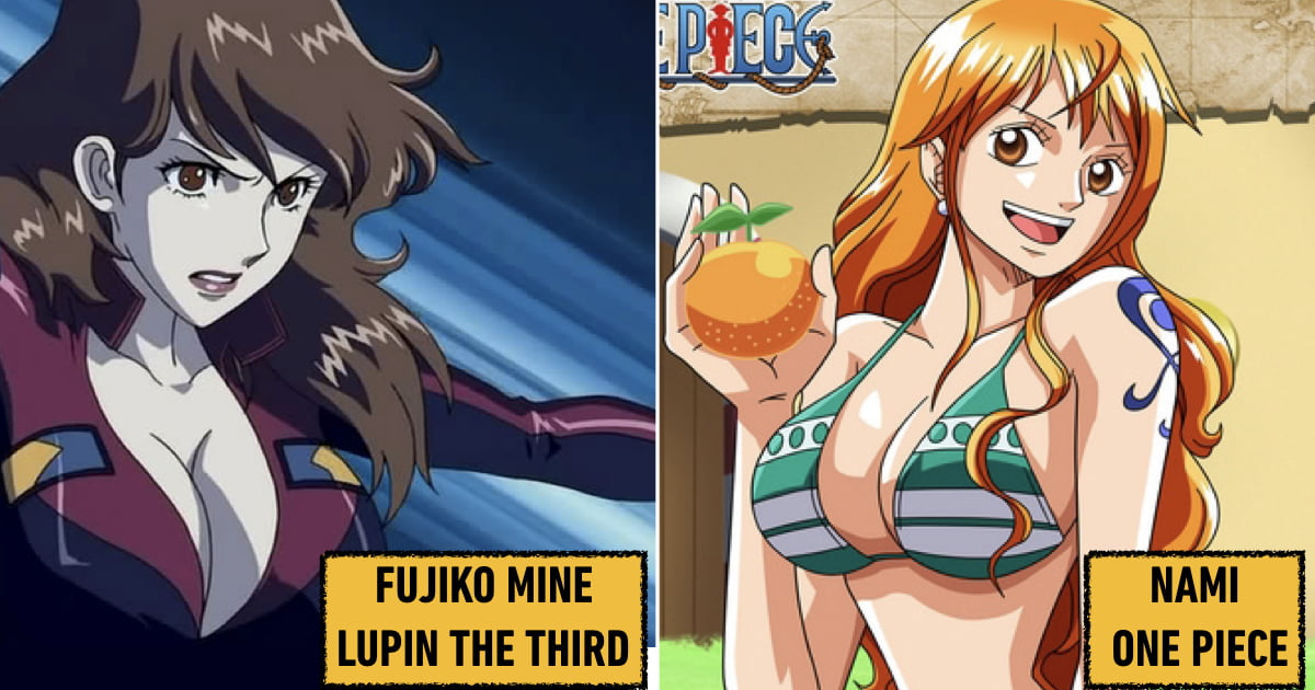biggest anime boobs