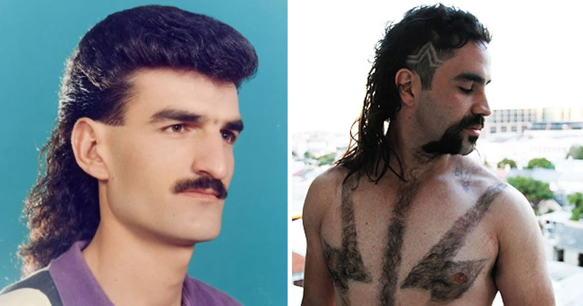 15 Wtf Photos Prove That Mullet Is The Worst Haircut In