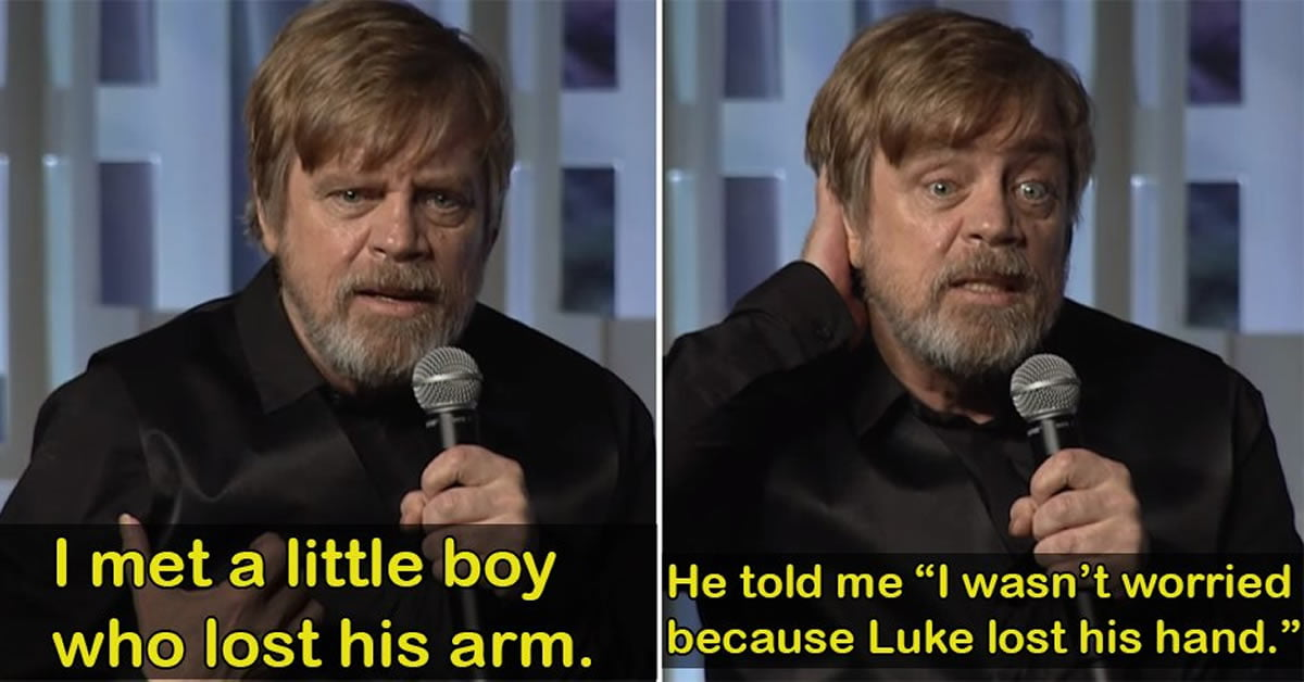 15 Reasons Explain Why Mark Hamill Is Always Our Favourite Person