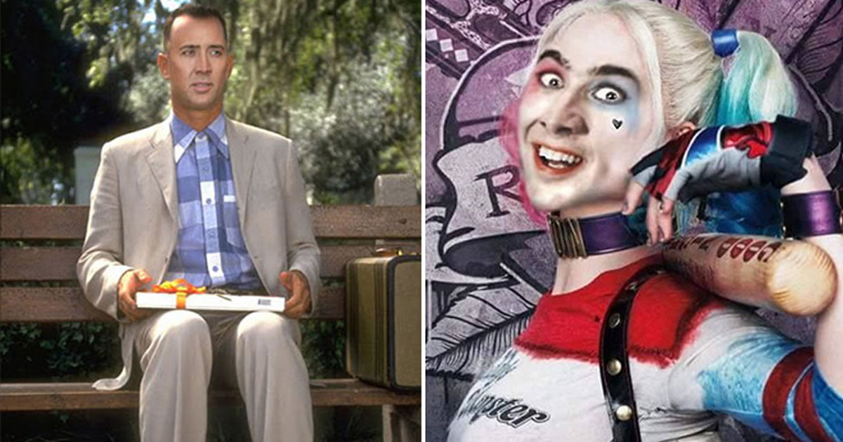 If Nicolas Cage Played Every Popular Role In Hollywood Movies