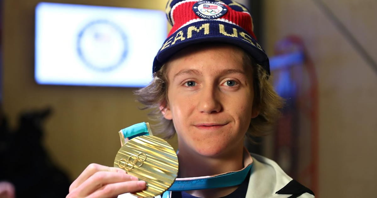 Red Gerard Overslept After A Late Night Of Netflix And Still Won The Olympic Gold
