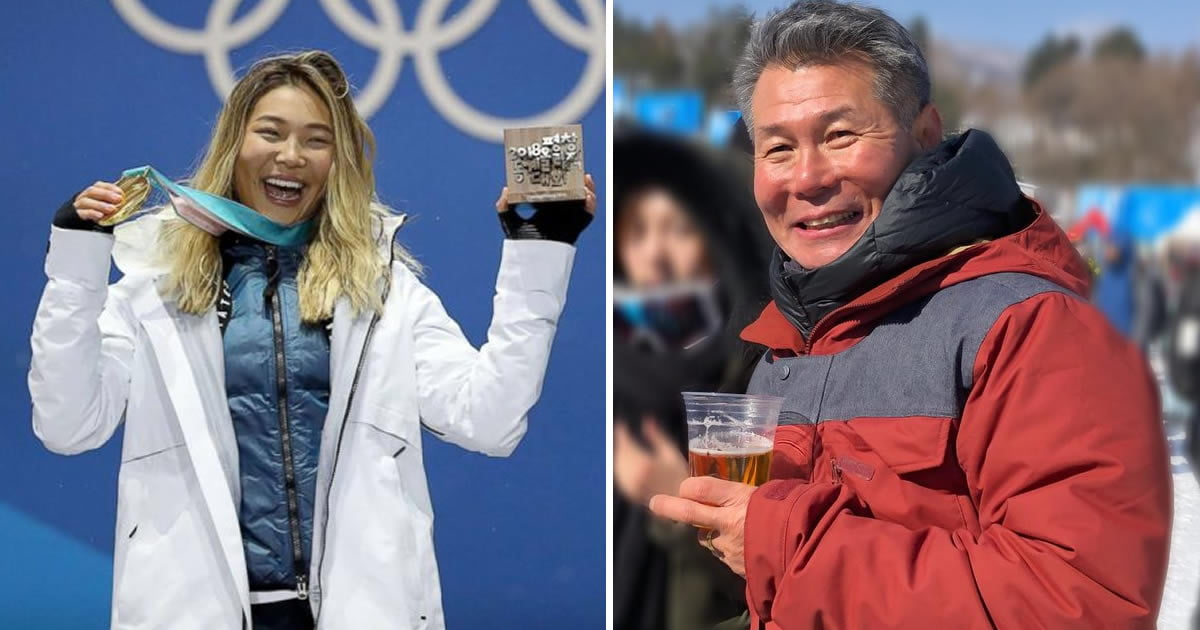Chloe Kim's Proud Dad Said The Most Asian Dad Thing After She Won The Olympic Gold