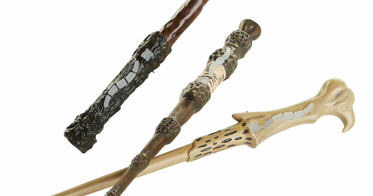 These Harry Potter Interactive Wands Let You Play Magical Laser Tag